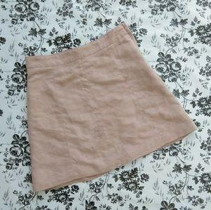 H&M Divided Blush Pink Mini Skirt Size 4